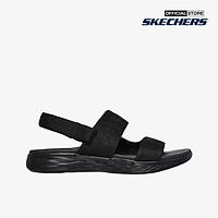 SKECHERS - Giày sandal nữ quai  ngang On The Go 600 140021-BBK