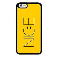 Ốp lưng dành cho Iphone 6 N.I.C.E Vàng - Hàng Chính Hãng