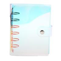 A6 6 Holes  PVC Loose-leaf Cover Laser Multi-color Notebook Sheet Binder