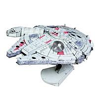 Mô hình thép 3D tự ráp Millenium Falcon màu