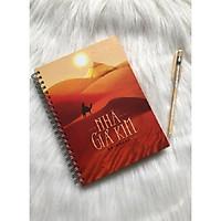 Notebook - Sổ tay bìa cứng Nhà Giả Kim (Tặng kèm bút bi viết xóa GGB)
