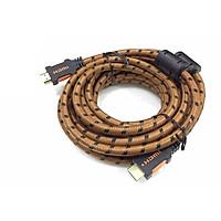 CÁP HDMI Kingmaster 2.0 ( 5m) 803-0298,CÁP HDMI 5M CHUẨN 2.0 DÂY LƯỚI-HÀNG CHÍNH HÃNG