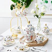 Bộ ấm chén pha trà Châu Âu Sắc Xuân Europen
