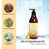 Dầu Xả Collagen Gạo Lứt The Nature Book Collagen Brown Rice Conditioner 300ml