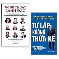Combo kinh doanh: Tự Lập Không Thừa Kế - Cẩm Nang Kinh Doanh Tâm Huyết Của Một Tỷ Phú Tự Thân + Nghệ Thuật Lãnh Đạo - Chân Dung Những CEO, Nhà Sáng Lập Và Những Người Thay Đổi Cuộc Chơi Vĩ Đại Nhất Thế Giới + Bookmark AHA