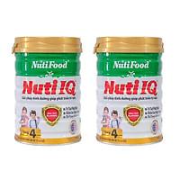 Combo 2 hộp Sữa bột Nutifood IQ Step 4 (900g) - tăng cường DHA cho trẻ từ 2 đến 6 tuổi Phát triển trí não và thị giác