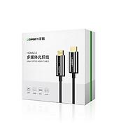 Cáp HDMI 2.0 sợi quang 10m Ugreen 50717 hỗ trợ 4K/60Hz cao cấp - Hàng chính hãng