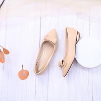 Giày Búp Bê Mũi Nhọn Gắn Nơ Pixie X646
