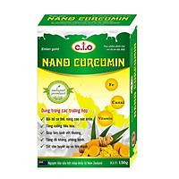 Thực phẩm chức năng sữa nghệ nano curcumin enlan gold hộp giấy 150gr