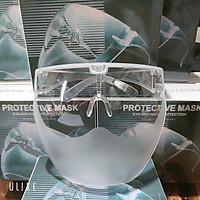 [Face shield] Mặt Nạ Kính Bảo Hộ Đa Năng chống bụi, kính che mặt chống giọt bắn phòng Covid Ôm Mặt Thời Trang Mặt Nhám