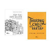 Combo 2 cuốn sách: Tập tục đời người   + Thương chi văn tập