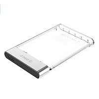 Hộp Đựng Ổ Cứng Di Động HDD Box 2.5 Inch Orico 2129U3 Nhựa Trong Suốt - Hàng Nhập Khẩu
