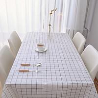 Khăn trải bàn chống nước họa tiết ca rô xinh xắn