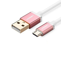 Cáp sạc USB 2.0 sang Micro USB 2M Màu Trắng UGREEN USB20836 hàng chính hãng