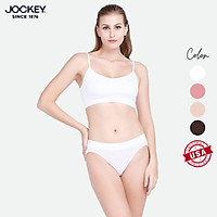 Quần Lót Nữ Jockey Dáng Bikini Seam Free Kháng Khuẩn - JMLB9439