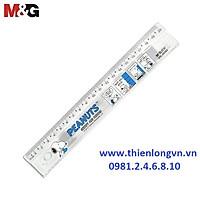 Thước kẻ 20cm M&G Snoopy - SRL96080 màu xanh