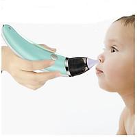 Máy hút mũi điện tử mini WX-102 đầu Silicon siêu mềm cho bé.