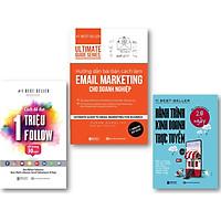 Bộ Sách Hướng dẫn bài bản cách làm Email Marketing cho doanh nghiệp | Ultimate Guide Series , Hành trình kinh doanh trực tuyến 28 ngày ,Cách Để Đạt 1 Triệu Follow Chỉ Trong 30 Ngày
