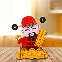 Đồ chơi lắp ráp gỗ 3D Mô hình Thần Tài HG-I002