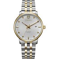 Đồng hồ nam mạ vàng 18K chính hãng Thụy Sỹ TOPHILL TU008G.S6288