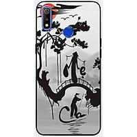 Ốp lưng dành cho Realme 3 Pro mẫu Cha mẹ núi sông
