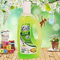 Nước Lau sàn nhà FILY Tinh dầu sả 1000ml xua đuổi côn trùng - an toàn cho bé