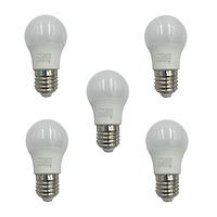 Bộ 5 Bóng đèn LED búp kín nước 3W