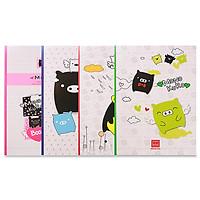 Vở 4 ly ngang 200 trang South Star Monokuro Boo 0735 (10 quyển)