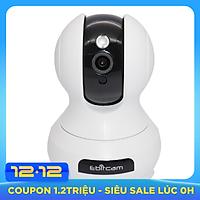 Camera IP Wifi EbitCam E3 2MP thu âm 360 độ + Tặng thẻ nhớ 32GB- Hàng chính hãng
