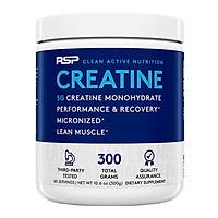 RSP Nutrition Creatine Monohydrate 300grams Hổ Trợ Tăng Sức Mạnh và Phục Hồi Cơ Bắp