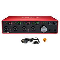 Focusrite Scarlett 18i8 Gen 3 Sound Card Âm Thanh Hàng Chính Hãng - Focus USB Audio Interface SoundCard (3rd - Gen3) - Kèm Móng Gẩy DreamMaker