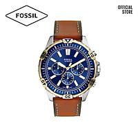 Đồng hồ nam FOSSIL Garret dây da FS5625 - màu nâu