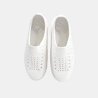 Giày nhựa lỗ đẹp Nam & Nữ siêu nhẹ, siêu bền dành cho mọi độ tuổi DA002TRG (Màu trắng)