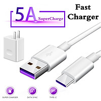40W booster charger wall adapter 5A cable P30 Pro / mate 20