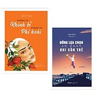 Combo sách hay dành cho tuổi trẻ : Không tự khinh bỉ không tự phí hoài + Đừng lựa chọn an nhàn khi còn trẻ - Tặng kèm Postcard HAPPY LIFE