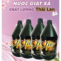 Nước Giặt Xả 5IN1 4,5lít FIly Đen Thái Hương luxury ,Phù Hợp Với Giăt Tay ,Giặt Máy