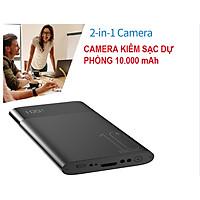 Sạc dự phòng H20 cao cấp - H20 4K HD Wifi Cam Pin sạc dự phòng với camera góc rộng 170 độ
