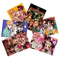 Ảnh card Jibaku Shounen Hanako-kun set 11 tấm khác nhau nhiều nhân vật