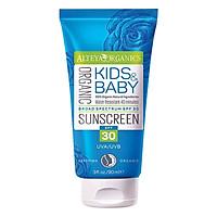 Kem Chống Nắng Hữu Cơ Trẻ Em Alteya Organic Sunscreen Kids & Baby SPF 30 (90ml)