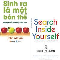 Combo 2 Cuốn Sinh Ra Là Một Bản Thể Đừng Chết Như Một Bản Sao (Tái Bản ) + Search Inside Yourself - Tạo Ra Lợi Nhuận Vượt Qua Đại Dương Và Thay Đổi Thế Giới (Tái Bản) (Tặng Bookmark Vĩnh Thụy)