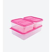Combo 3 hộp nhựa đựng thực phẩm - Set 02