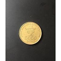 Đồng Xu 5000 Việt Nam 2003 Thật 100%