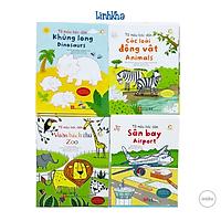 Sách Tô Màu Bóc Dán Cho Bé Vừa Vẽ Vừa Dán Sticker