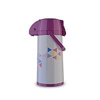 Phích bơm nước cao cấp Rạng Đông Model 2045TS.E - Chính hãng, thân sắt, vai nhựa, dạng cần bơm, dung tích 2 lít