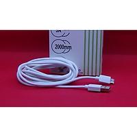 Cáp sạc nhanh và truyền dữ liệu Micro USB dài 2m hàng nhập khẩu