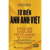 Từ Điển Oxford Anh - Anh - Việt (Bìa Vàng) Tặng kèm bookmark TH