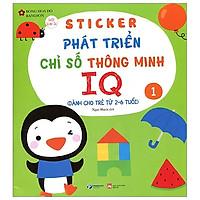 Sticker Phát Triển Chỉ Số Thông Minh IQ - Tập 1