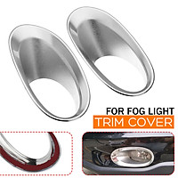 Front Fog Light Lamp Bumper Trim Cover Cap For Honda CRV CR-V 2010 2011 Chrome