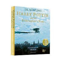 Harry Potter Part 1: Harry Potter And The Philosopher's Stone (Paperback) - Illustrated Edition - Harry Potter và Hòn đá phù thủy