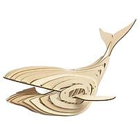 Đèn gỗ trang trí , đèn trang trí, đèn thả trần, đèn decor phòng ngủ bằng gỗ cao cấp hình cá voi (Màu Gỗ)